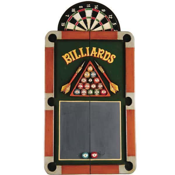 Billiards & Darts Dartboard Cabinet by R.A.M. Game Room