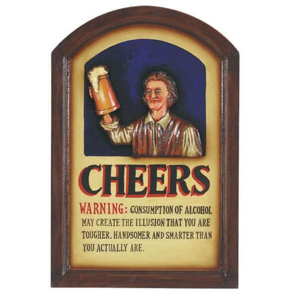 Cheers Wall Art by R.A.M. Game Room