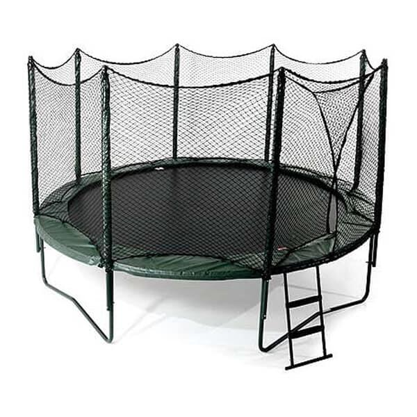 14' Variable Bounce Trampoline w/ Enclosure by AlleyOop Sports