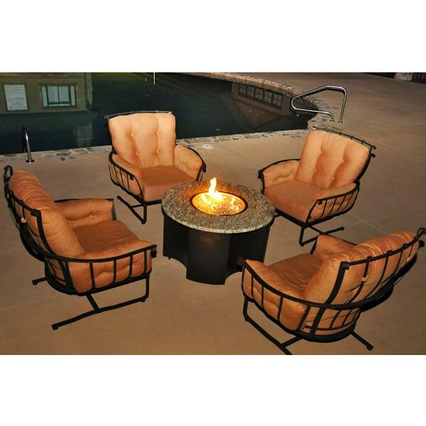 Vinings Fire Pit by Meadowcraft