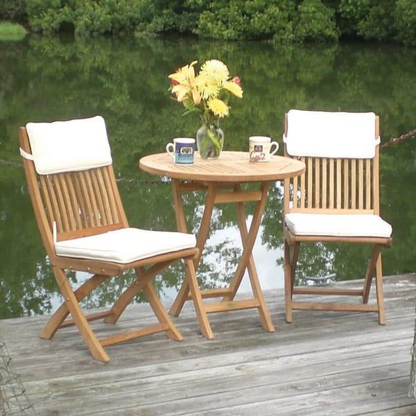 Sailor Teak Bistro Set by Royal Teak Collection