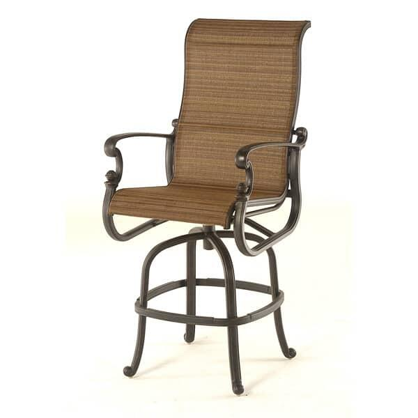 St. Augustine Sling Bar Stool by Hanamint