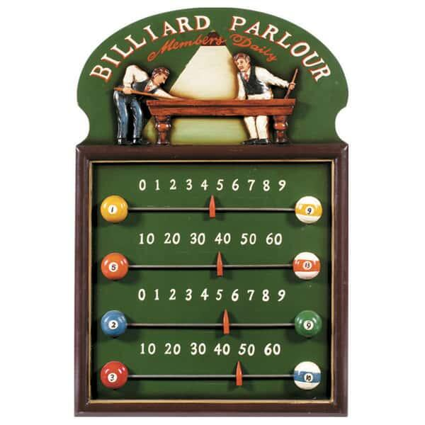 Billiard Parlour Scoreboard by R.A.M. Game Room