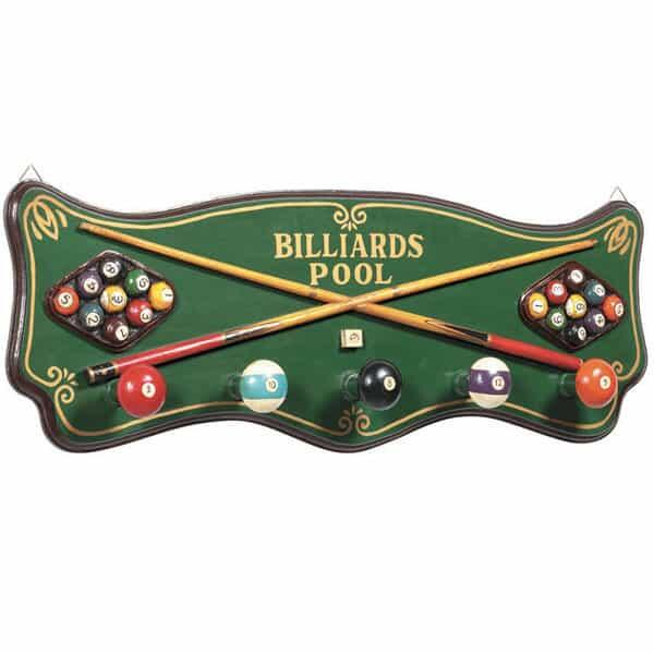 Billiards Coat Rack by R.A.M. Game Room