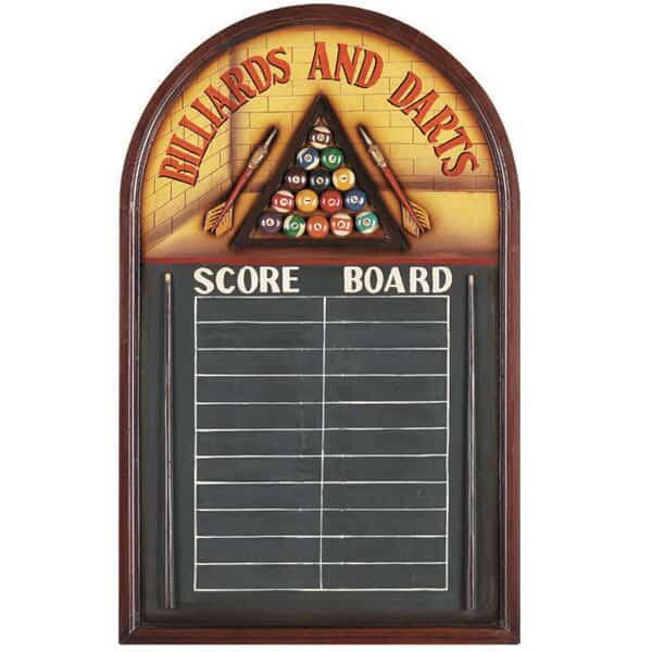Billiards & Darts Scoreboard by R.A.M. Game Room