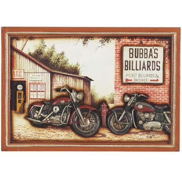 Bubbas Billiards Wall Art by R.A.M. Game Room