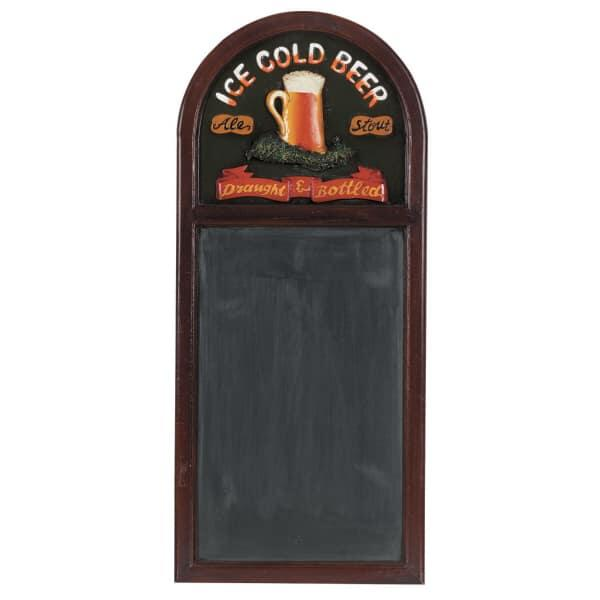 Ice Cold Beer Chalkboard by R.A.M. Game Room