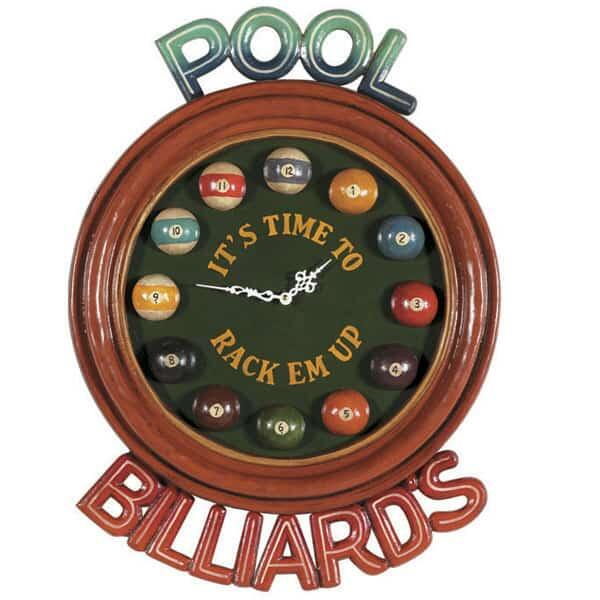 It's Time Wall Clock by R.A.M. Game Room