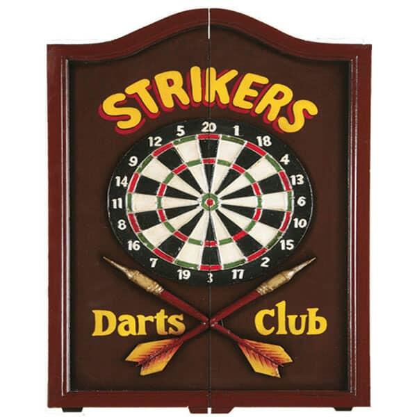 Strikers Dartboard Cabinet by R.A.M. Game Room