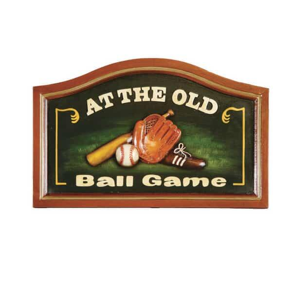 The Old Ball Game Wall Art by R.A.M. Game Room
