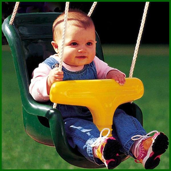 Molded Infant Swing by Creative Playthings