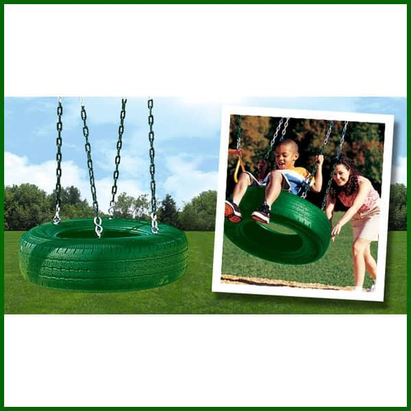 Single AxisTire Swing by Creative Playthings