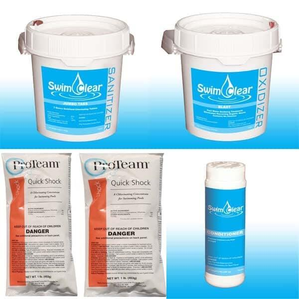 Chemical Value Package #3 - Chlorine by Swim Clear