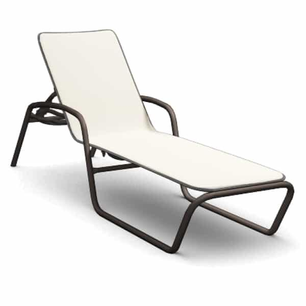 Holly Hill Adjustable Chaise by Homecrest