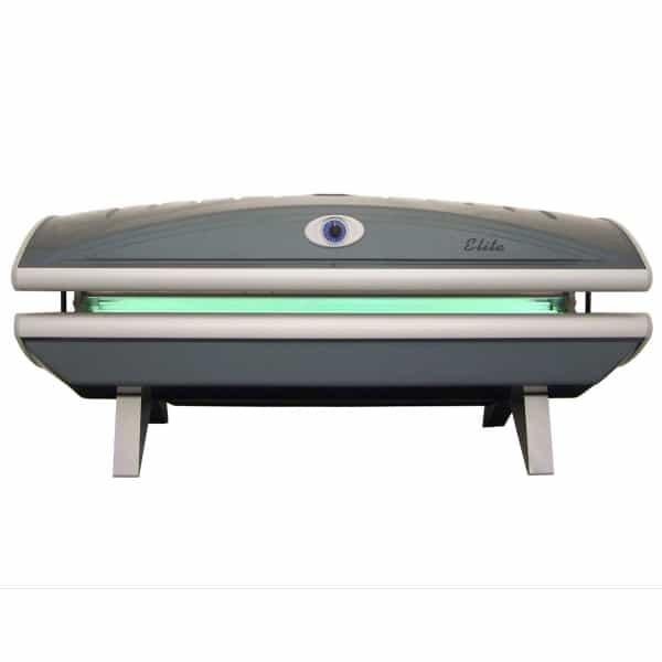 Enjoy bronze skin all year round with the Elite 16F tanning bed by ESB