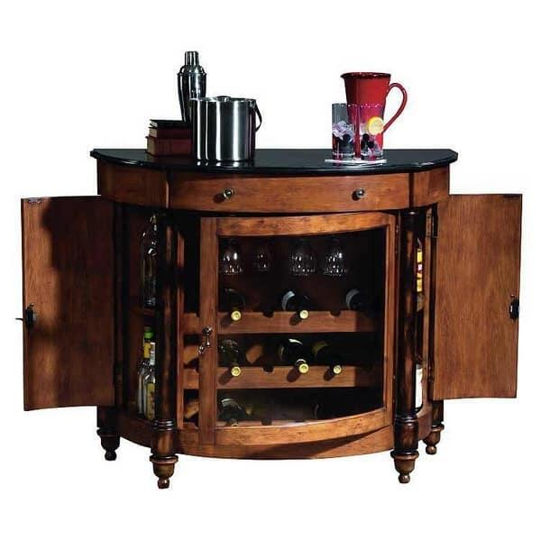 Merlot Valley Console by Howard Miller