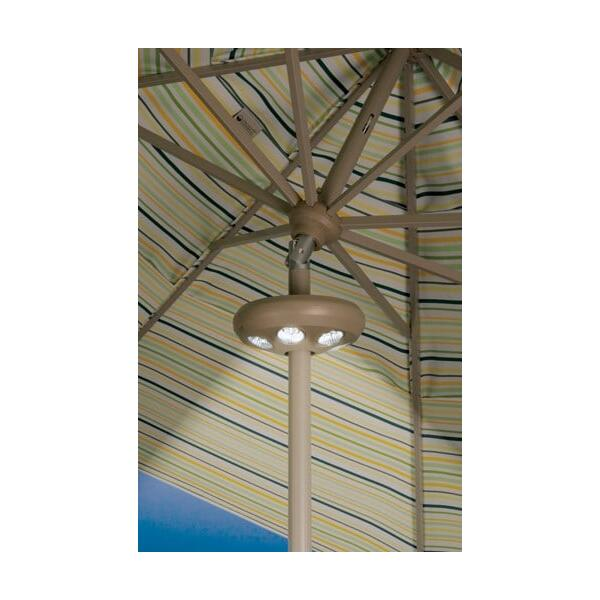 6 Light Vega Umbrella Lamp by Treasure Garden
