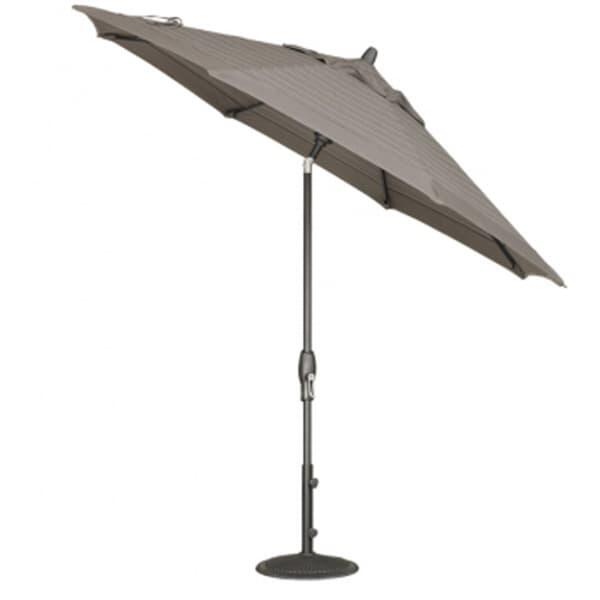 9 Ft. Deluxe Auto Tilt Umbrella by Treasure Garden