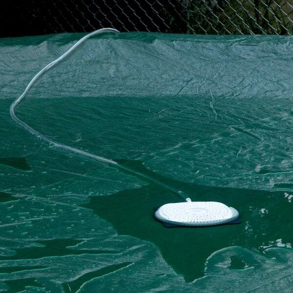 Pool Cover Saver Siphon by Family Leisure