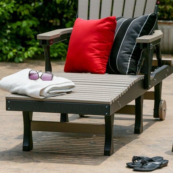 Comfo-Back Chaise Lounge by Berlin Gardens
