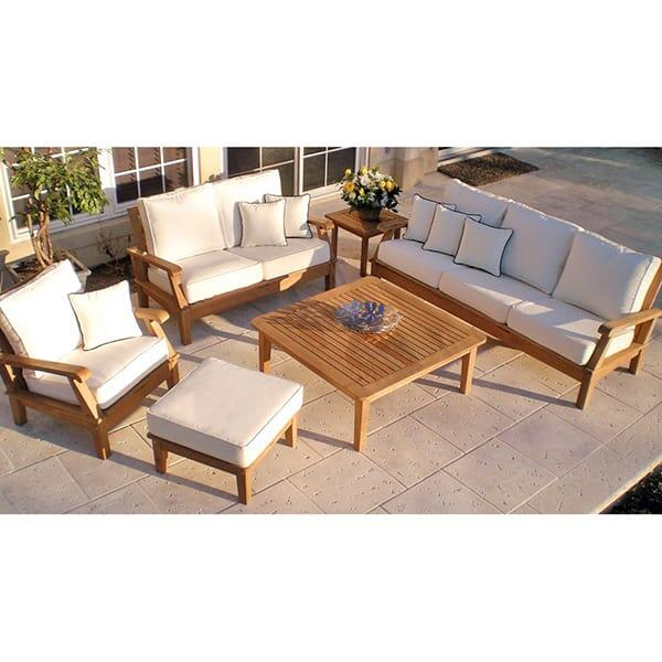 Miami Teak - White by Royal Teak Collection