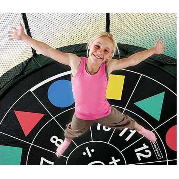 10' x 17' Rectangular Trampoline w/ Enclosure by AlleyOop Sports