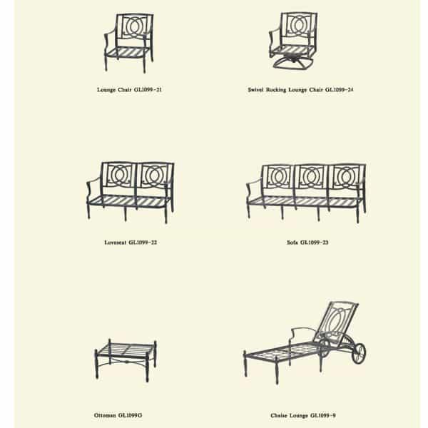 Bel Air - Deep Seating by Gensun