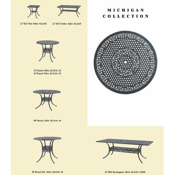 Michigan Deep Seating by Gensun