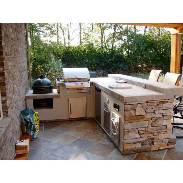 Outdoor Kitchen Island: Hamilton Grill Island Project