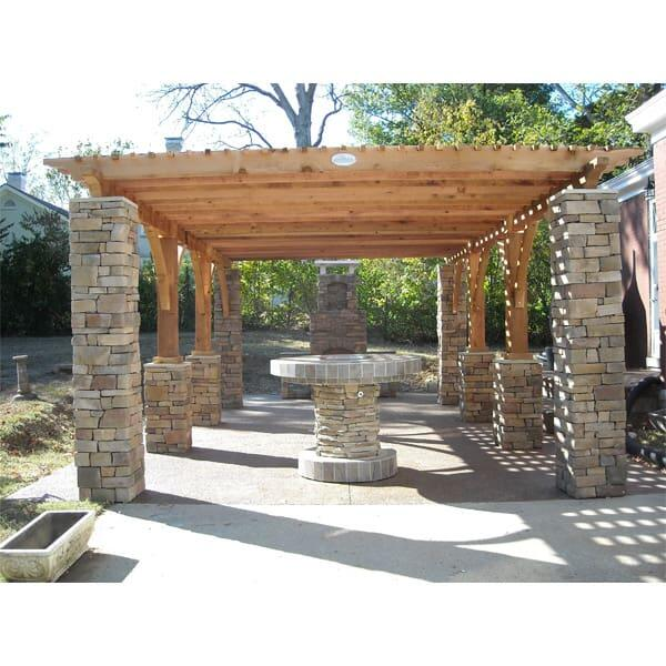 McGraw Pergola Project by Leisure Select