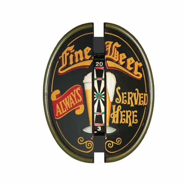 Fine Beer Dartboard Cabinet by R.A.M. Game Room