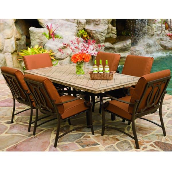 Belden Cushion Dining by Woodard