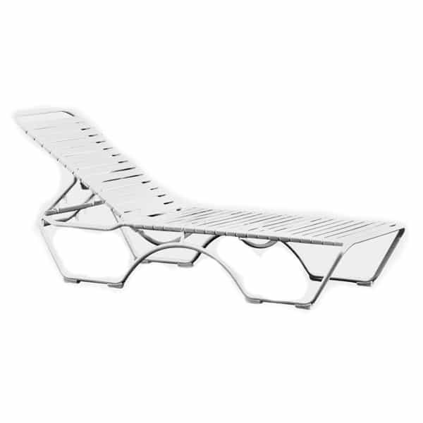 Kahana Strap Chaise Lounge by Tropitone