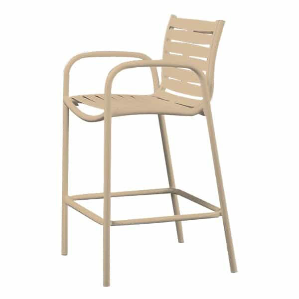Millennia Strap Bar Stool by Tropitone
