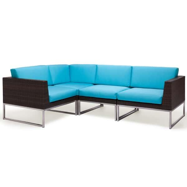 Mirabella Woven Sectional by Caluco