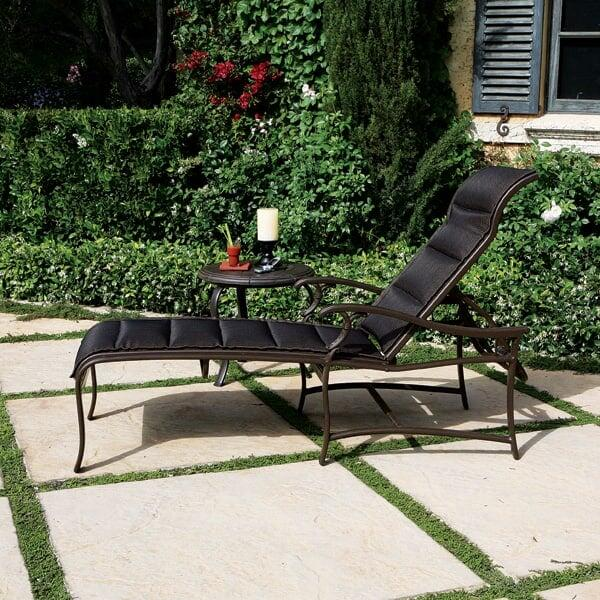 Ravello Padded Sling Chaise Lounge by Tropitone