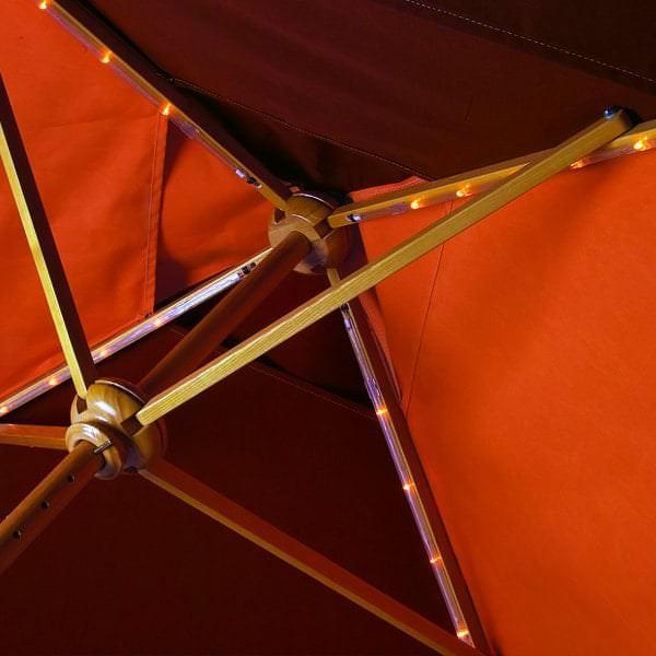 Portofino II Aluminum Umbrella by Tropitone