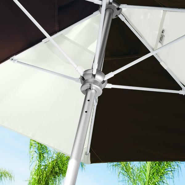 Portofino III Aluminum Umbrella by Tropitone