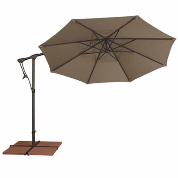 10 Ft. Octagon Cantilevered Umbrella by Treasure Garden