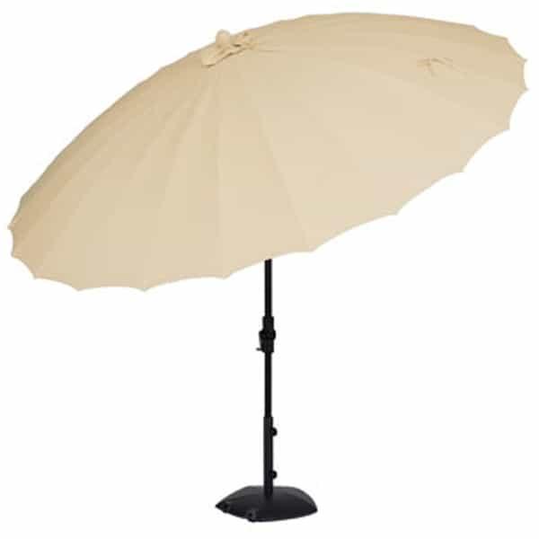 10' Shanghai Collar Tilt Umbrella by Treasure Garden