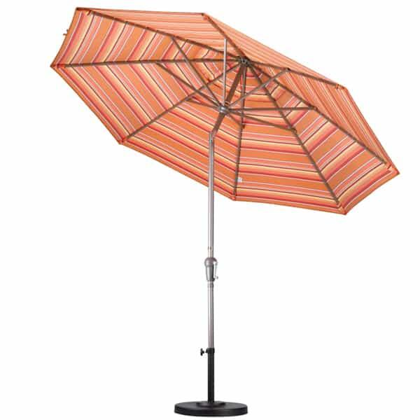 9' Aluminum Auto Tilt Market Umbrella by Leisure Select