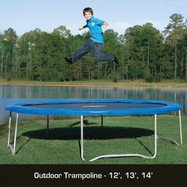 13 Pure Fun Outdoor Trampoline
