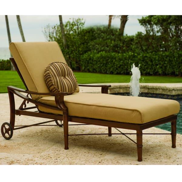Arkadia Chaise Lounge by Woodard