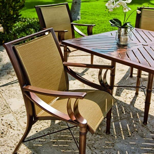 Arkadia Sling Dining by Woodard