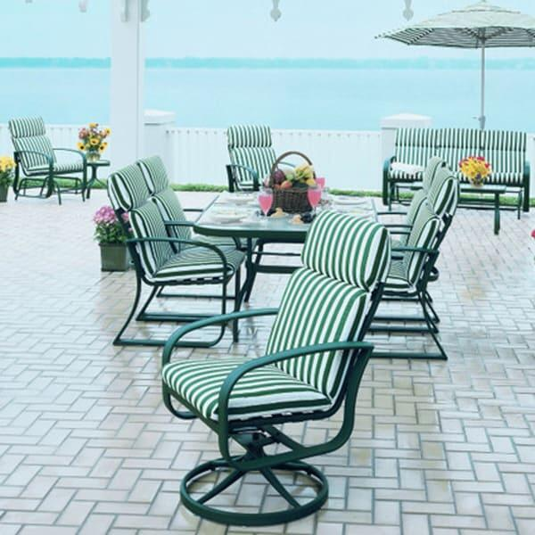 Cayman Isle Cushion Dining By Woodard Outdoor Furniture
