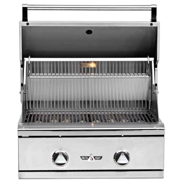 "26"" Outdoor Gas Grill Head by Delta Heat"