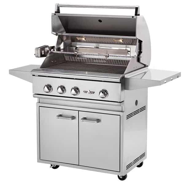 "32"" Outdoor Gas Grill by Delta Heat"