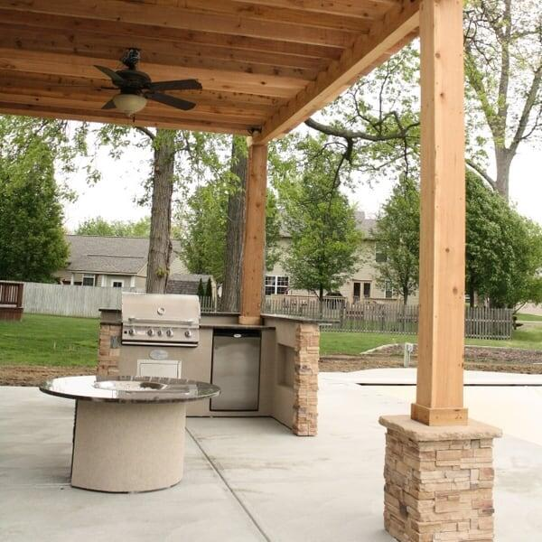 Duncan Grill Island Project by Leisure Select