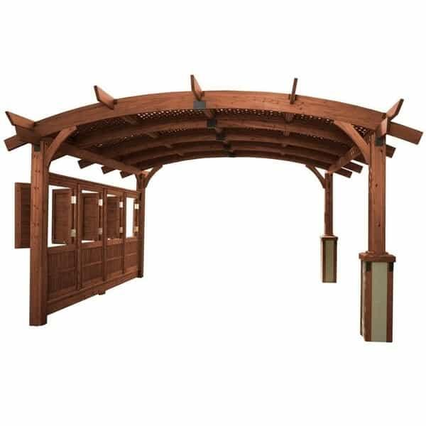 Sonoma 12 Pergola - Mocha by Outdoor GreatRoom