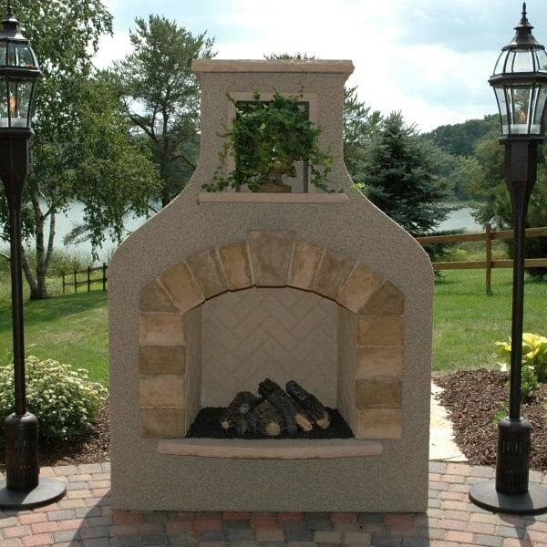Sonoma Gas Fireplace by Outdoor GreatRoom